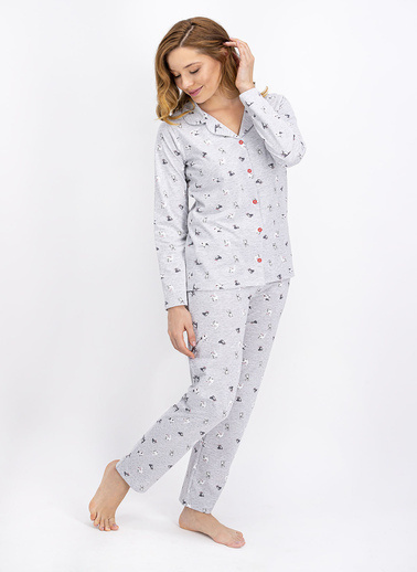 Roly Poly Pijama Takım Beyaz